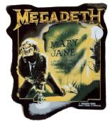 Megadeth - 'Mary Jane' Shaped Sticker